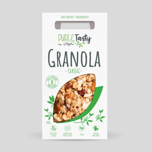 Packaging for Natural Tasty Granola