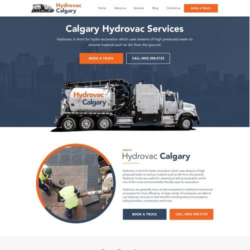 Hydrovac Website