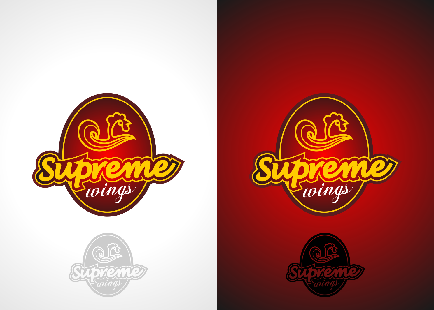 Supreme Wings needs a new logo