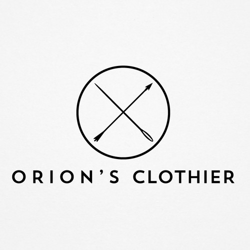 Orion's Clothier - Logotype design