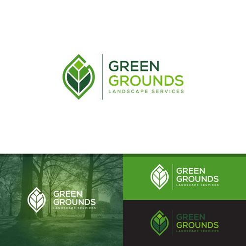 Green Grounds Logo
