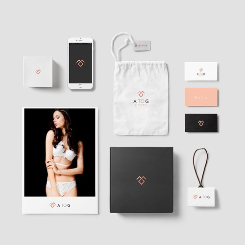 Branding for modern lingerie firm