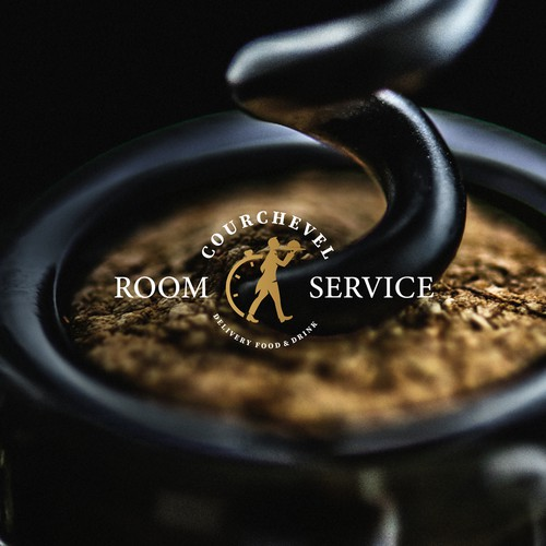 Elegant room service logo