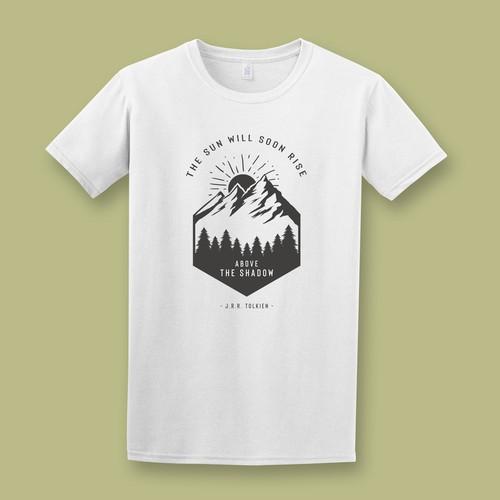 Design a Tolkien-inspired T-Shirt