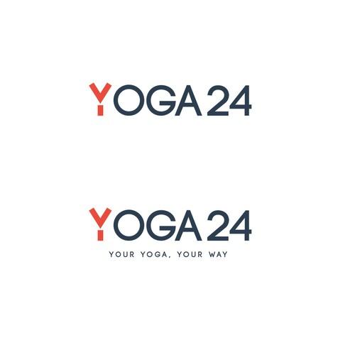 logo concept for yoga gym