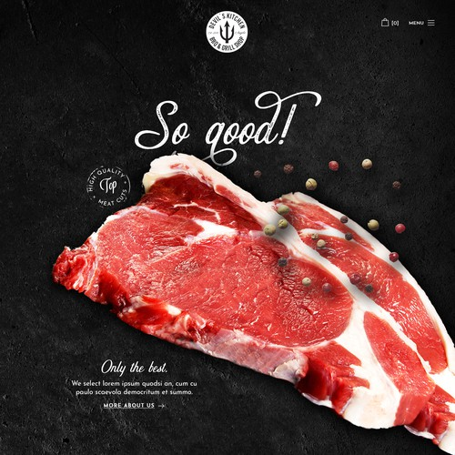 Out-of-the-box design for Meat Seller