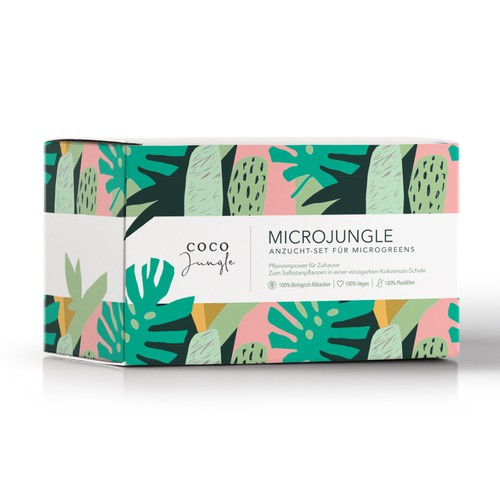 Microjungle. Packagign design