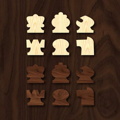 vertical chess design