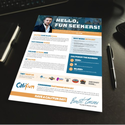 Flyer for Fun Seekers