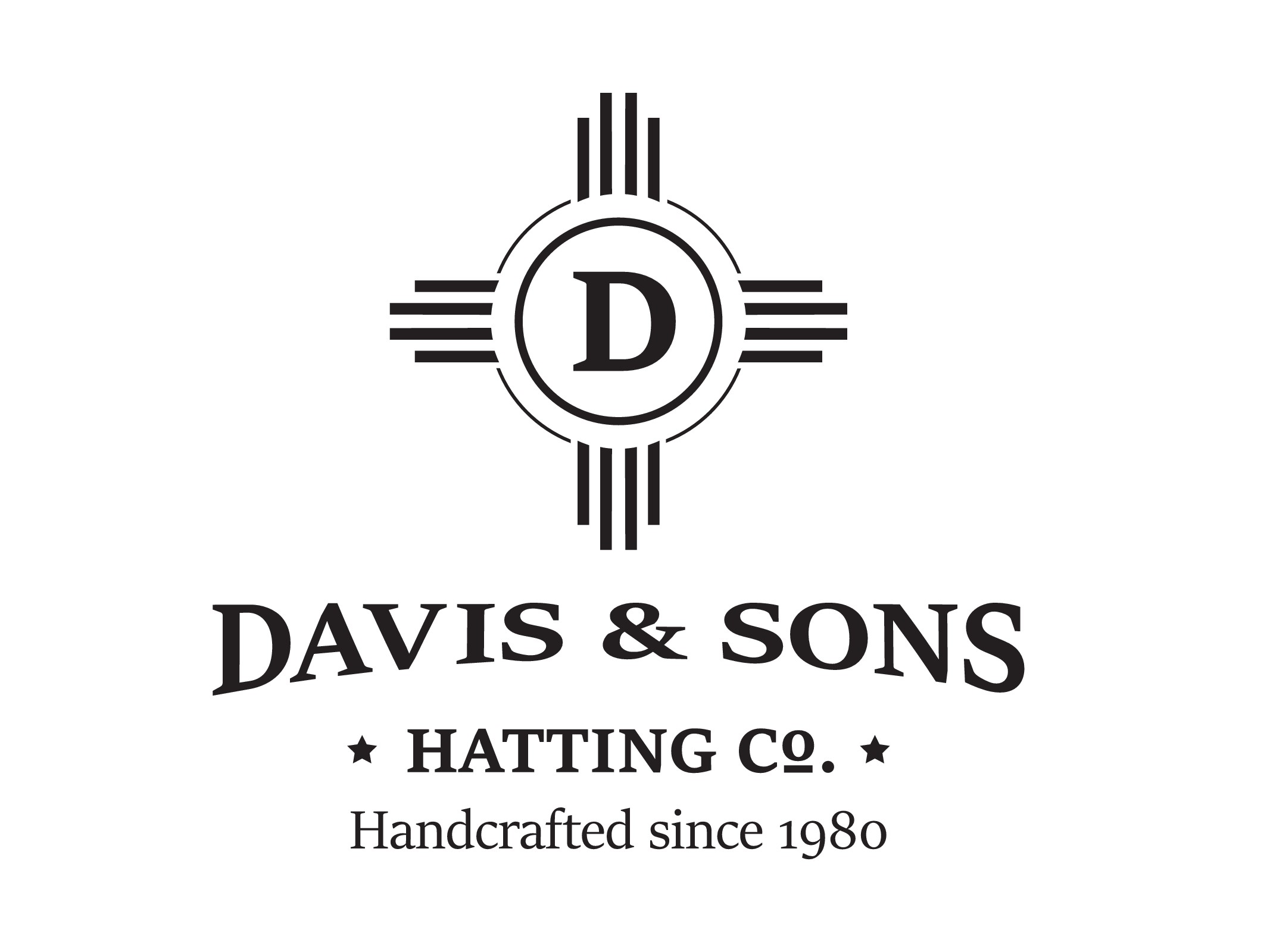 Create a luxury logo and website for Davis & Sons Hatting Co. a luxury custom hat making company
