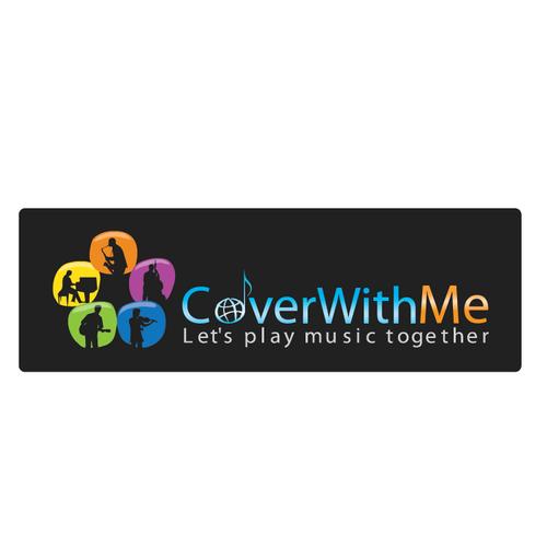 Logo pour le premier site communautaire de musiciens amateurs internationaux