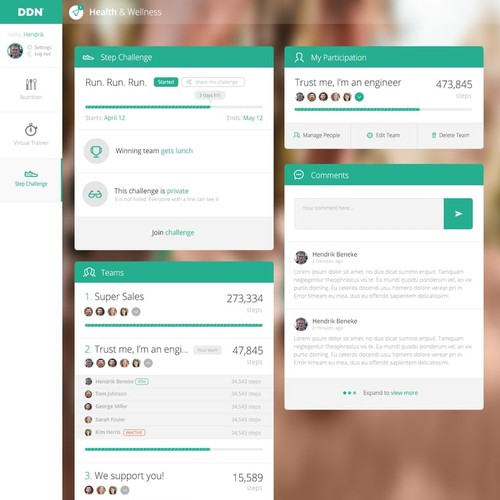 Wemofit Web Design