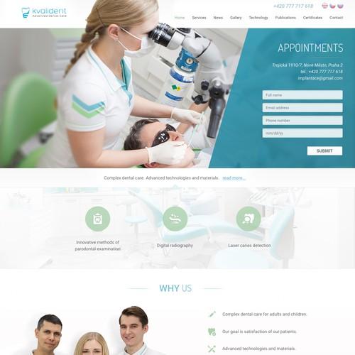 Modern Dental Website