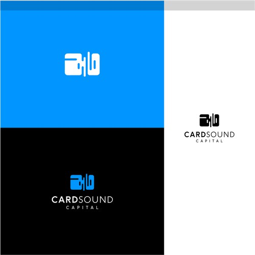 The logo has two meanings, namely combining debit card design and sound waves into one work