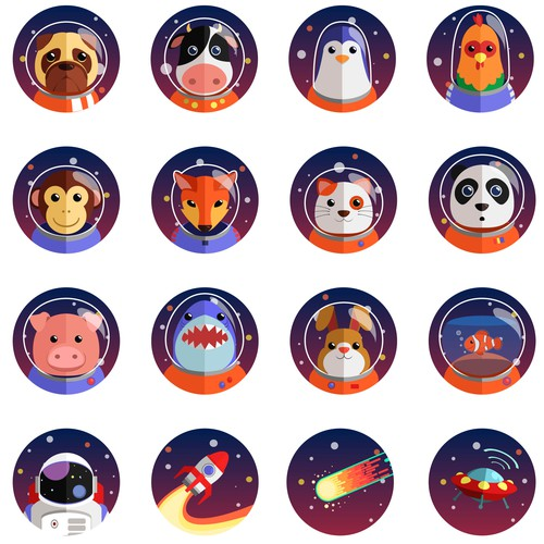 Space Avatars for new App