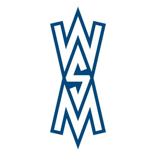 Monogram W, S & M