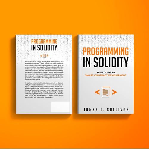 Programming in Solidity - Book Cover Design Contest