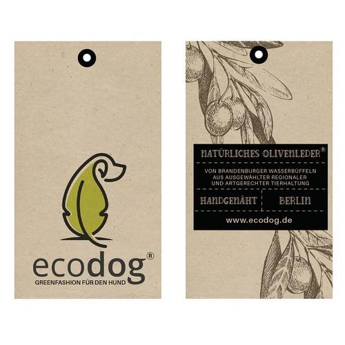 Natural label for ecodog