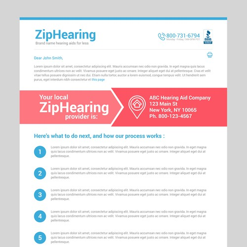 ZipHearing Email Newletter