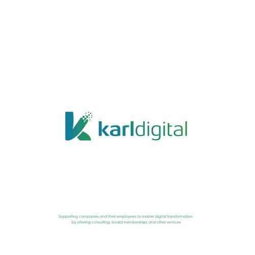 Logo design for startup karldigital