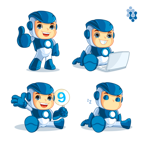 Mascot for a software testing company