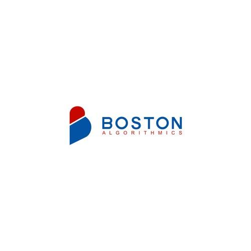 Logo concept for boston