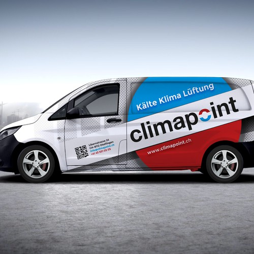 Climapoint Car wrapping.