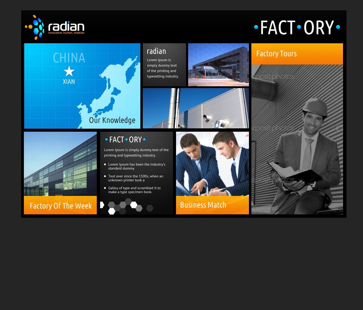 website design for radian.com.au