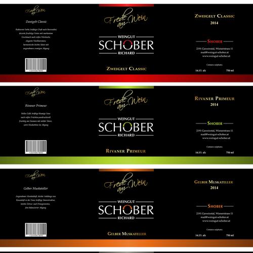 Winning Logo Design for wine label contest