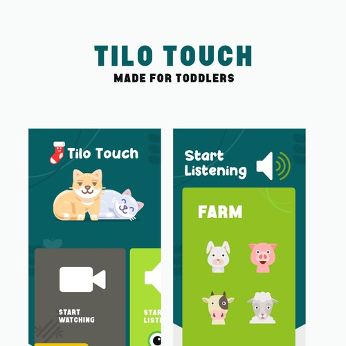 Tilo Touch children Mobile app