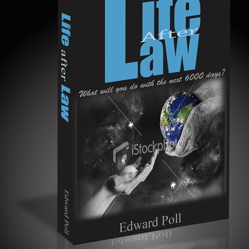 Create a book cover for LawBiz Management's book: Life After Law