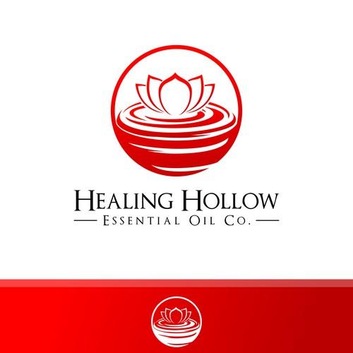 Natural Logo for Healing Hollow