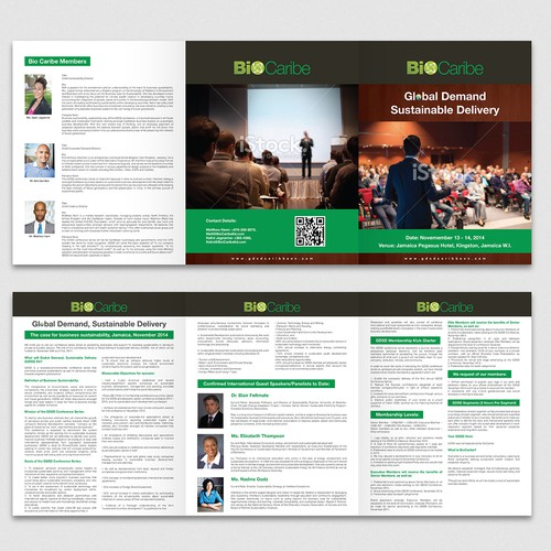 99nonprofits: Create a standout event brochure for business-environmental conference