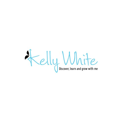 Logo for a personal brand of an author, speaker and business coach