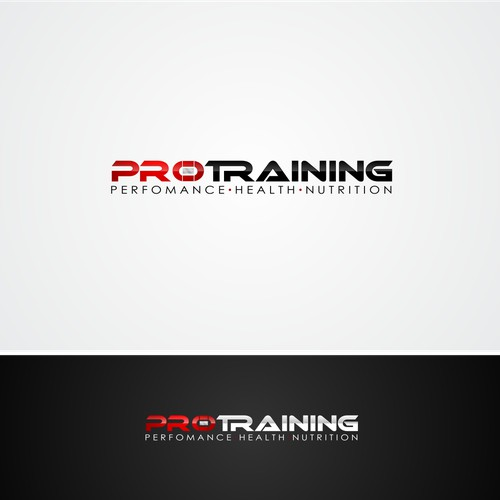 Create a logo for a premium personal training and nutrition business