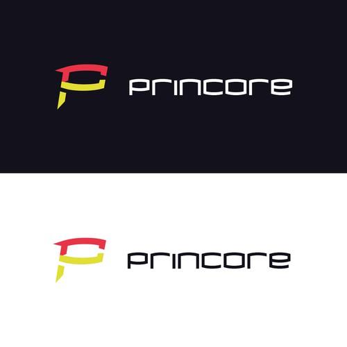 Logo concept for a 3D print shop