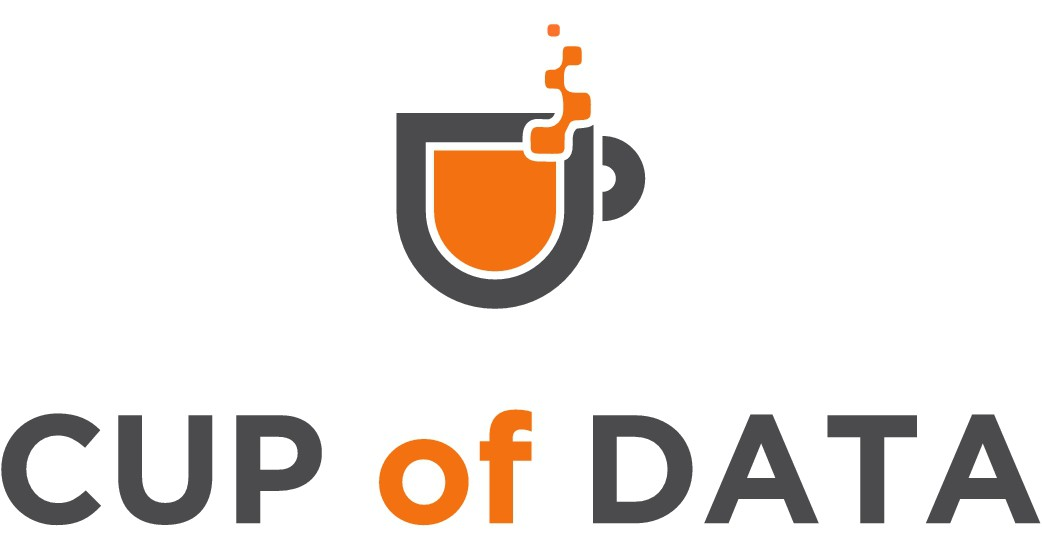 3Blades to Cup of Data Logo Design