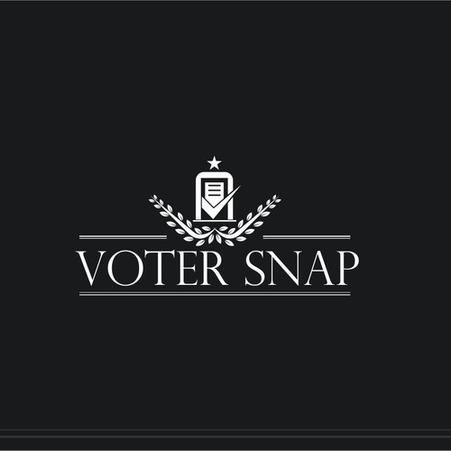 Be the designer who helped launch VoterSnap. (App Icon Button + Logo)