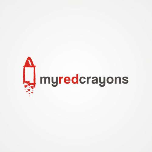 Help My Red Crayons with a new logo