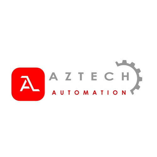 Logo for a company who provides automatic solutions for small companies.