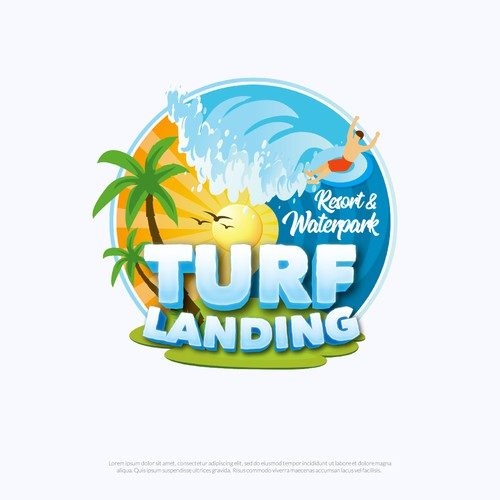Resort & Waterpark Logo