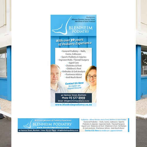 Podiatrists banner ad