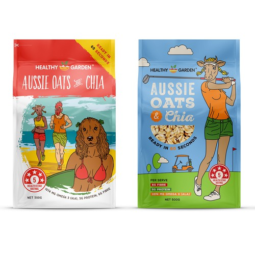 Muesli Packaging for Healthy Garden