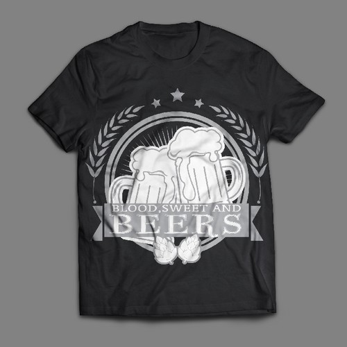 Creative Beer Festival T-shirt design