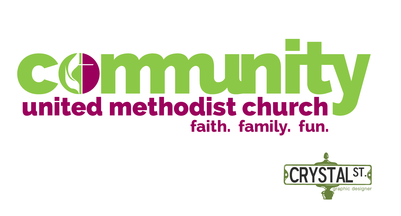 Create an engaging logo for a new young church