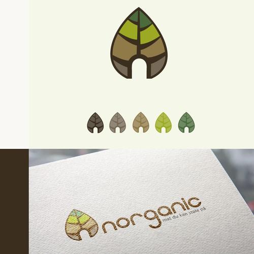 Logo design organic on-line shop