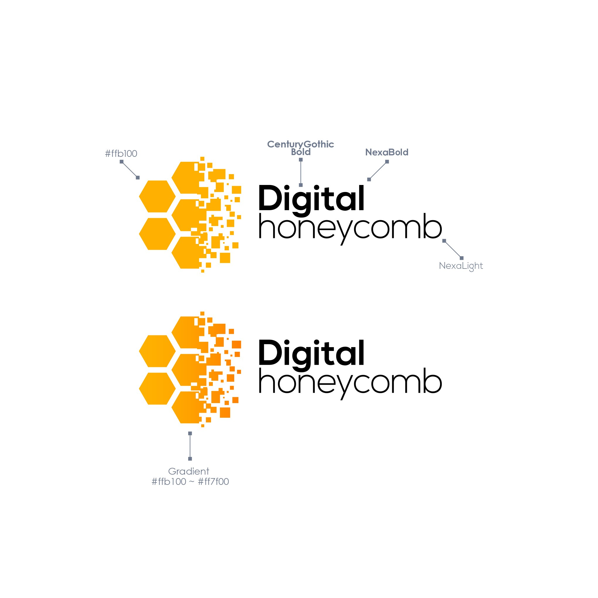 """Erstelle ein modernes """"Honeycomb"""" Agency Logo"""