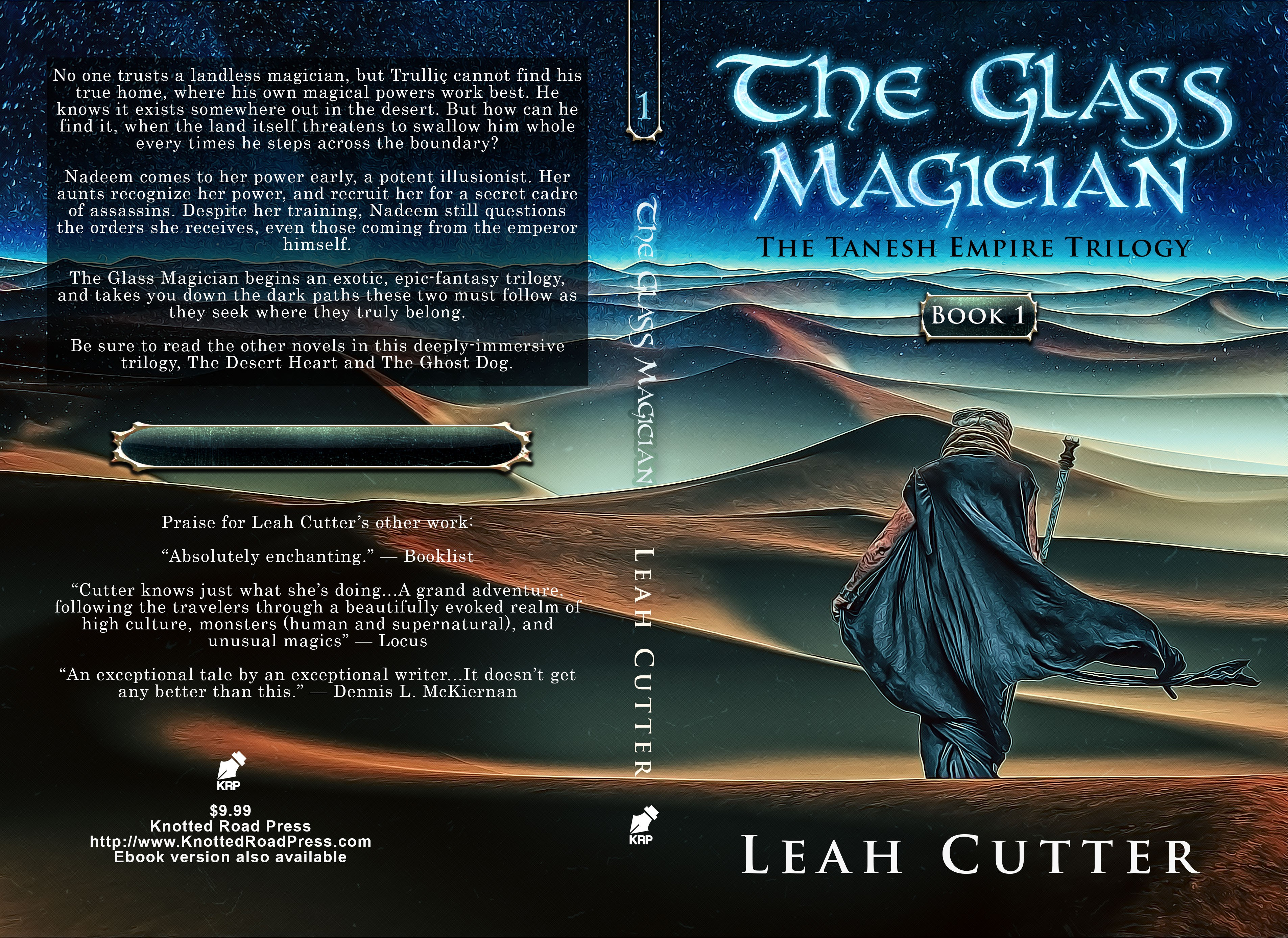Design a cover for an exciting new dark fantasy trilogy!