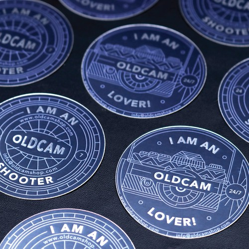 Oldcamshop Sticker.