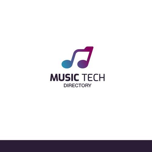 Online music directory logo